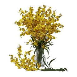 Set of 12 Dancing Lady Orchid Stems
