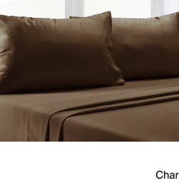 None - Luxury Pima Cotton 350 Thread Count Sheet Set with Bonus Pillowcases - Spruce up your bedroom with this sheet set and enjoy night after night hugging your sheets in joy. With a classic sateen weave,this set is crafted from superior Pima cotton yarns for incredible softness and long-lasting comfort and quality.