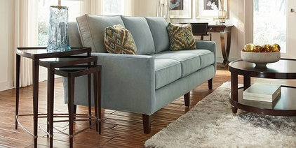 Transitional Sofas by Home Couture