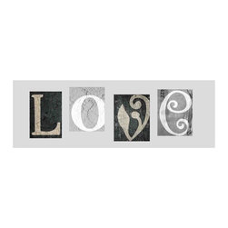 Yosemite - Yosemite YE2011-04-PF Love Refined Wall Art - Yosemite YE2011-04-PF Love Refined Wall ArtPrinted with foil sign of LOVE canvas.Yosemite YE2011-04-PF Features: