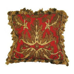 Decorative Pillows - Instantly dress up your home for the holidays with some luxurious throw pillows!