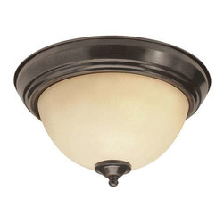 Trans Globe Lighting - Trans Globe Lighting 13511 ROB Flushmount In Rubbed Oil Bronze - Part Number: 13511 ROB