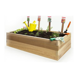 4ft. Double Raised Garden Earth Box -