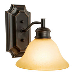 Design House - Design House 504415 Bristol Traditional / Classic 1 Light Up / Down Lighting Wal - Design House Bristol 1 Light Wall SconceThe Bristol Collection Is Easy Transitional Styling Married With A Warm Oil Rubbed Bronze Finish So Popular Today.