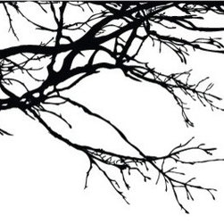 Tree Top Branches Wall Decal - Some wall decals may come in multiple pieces due to the size of the design.