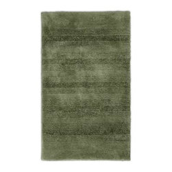 "Garland Rug - Bath Mat: Accent Rug: Essence Deep Fern 24"" x 40"" Bathroom - Shop for Flooring at The Home Depot. Essence Bath Rugs will complement any bathroom decor. The distinctive stripe pattern gives a modern look. Essence Bath Rugs are made with 100% Nylon for superior softness and quality. Proudly made in the USA."