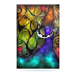 """Kess InHouse - Mandie Manzano """"So This Is Love"""" Metal Luxe Panel (16"""" x 20"""") - Our luxe KESS InHouse art panels are the perfect addition to your super fab living room, dining room, bedroom or bathroom. Heck, we have customers that have them in their sunrooms. These items are the art equivalent to flat screens. They offer a bright splash of color in a sleek and elegant way. They are available in square and rectangle sizes. Comes with a shadow mount for an even sleeker finish. By infusing the dyes of the artwork directly onto specially coated metal panels, the artwork is extremely durable and will showcase the exceptional detail. Use them together to make large art installations or showcase them individually. Our KESS InHouse Art Panels will jump off your walls. We can't wait to see what our interior design savvy clients will come up with next."""