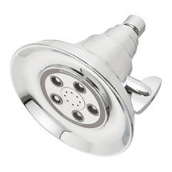 Speakman - Speakman Anystream Hotel Showerhead in Polished Chrome - Designed to both soothe and invigorate, the Anystream Hotel Showerhead features 50 powerful sprays and 8 pulsating center massage jets for full coverage. A favorite fixture at Crowne Plaza Hotels.