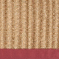 "Surya - Surya Clinton CLN-9003 (Caramel, Brick Red) 5' x 7'9"" Rug - The Clinton collection is one of rugs that will last a lifetime. The woven sisal is one of the most durable materials offered in the rug market and takes little to no maintenance. Pairing the natural center with the warm border makes these rugs classics that will look good in any room and any home for years."