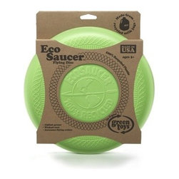 Green Toys EcoSaucer Flying Disc - Green Toys EcoSaucer Flying Disc