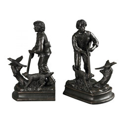 Sterling Industries - Hunter Bookends - Hunter Bookends