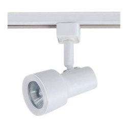 Hampton Bay - Hampton Bay 1-Light Mini GU10 Step Linear Track Head Matte White Finish EC1588WH - Shop for Lighting & Fans at The Home Depot. This Hampton Linear Track Lighting Head provides an abundance of light for your interior space. This track head accepts a 50-watt GU10-16 halogen bulb (included). It features a multi-directional lamp head to provide light for difficult places where light does not reach.