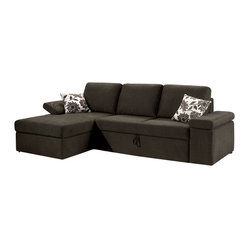 Fabric Sectional Sofa Home Products on Houzz