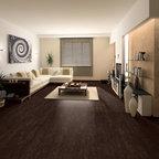 Cork floor -