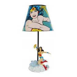 Westland - 16 Inch The Beautiful Amazon Super Hero Wonder Woman with Lasso Lamp - This gorgeous 16 Inch The Beautiful Amazon Super Hero Wonder Woman with Lasso Lamp has the finest details and highest quality you will find anywhere! 16 Inch The Beautiful Amazon Super Hero Wonder Woman with Lasso Lamp is truly remarkable.