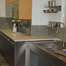 Modern Kitchen Countertops by BECKER WORKS LTD