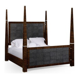 Jonathan Charles - New Jonathan Charles Queen Bed Black - Product Details