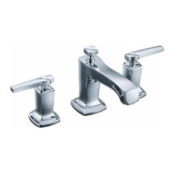 KOHLER - KOHLER K-16232-4-CP Margaux Widespread Bathroom Sink Faucet with Lever Handles - KOHLER K-16232-4-CP Margaux Widespread Bathroom Sink Faucet with Lever Handles in Polished Chrome