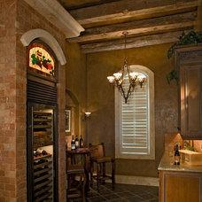 Mediterranean Wine Cellar by The Fechtel Company