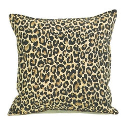 "CCCC-P-400 - Thunder Cat Cheetah Pattern Print 20"" x 20"" Throw Pillow - Thundercat cheetah pattern print 20"" x 20"" throw pillow. Measures 20"" x 20"" made with a blown in foam and also available with feather down inserts at additional costs, search for down insert upgrade to add the up charge to your order. These are custom made in the U.S.A and take 4- 6 weeks lead time for production."