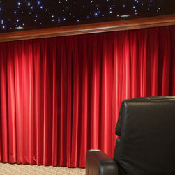 Motorized Curtain -