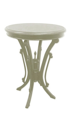 EuroLux Home - New Bistro Table White/Cream Painted - Product Details