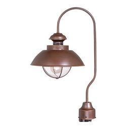 Vaxcel - Harwich Post Light - Vaxcel OP21505BBZ Harwich Burnished Bronze Outdoor Post Light