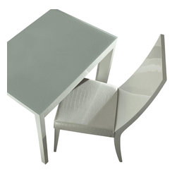 Rossetto - Nightfly White Chair - Features: