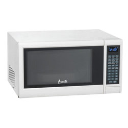 Avanti - Avanti 1.2 Cubic Foot White Electronic Microwave with Touch Pad - Avanti 1.2 cubic foot white electronic microwave with touch pad.