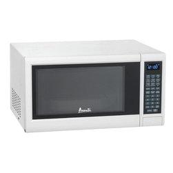 Avanti - Avanti 1.2 Cubic Foot White Electronic Microwave with Touch Pad - Avanti 1.2 cubic foot white electronic microwave with touch pad.