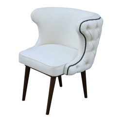 Mortise & Tenon - Brentwood Chair Upholstered Dining Chair - Shown As