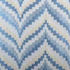 Highland Court - Flare Fabric - Flare is from the Highland Court -  Silk Traditions Collection. This colorful zig zag pattern   in drapes or decorative pillows would make a statement in any room.