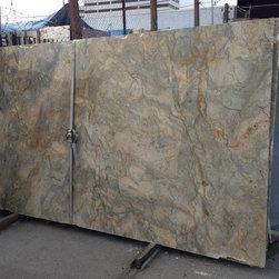 Royal Stone & Tile Slab Yard in Los Angeles - Fusion Granite Quartzite Slabs at Royal Stone & Tile in Los Angeles