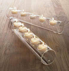 modern candles and candle holders by Crate&Barrel