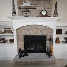 Traditional Fireplaces by Architectural Justice