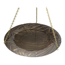 Hanging Dragonfly Bird Bath - Hanging dragonfly bird bath available from http://www.mailboxpoint.com for $35.99 with free shipping