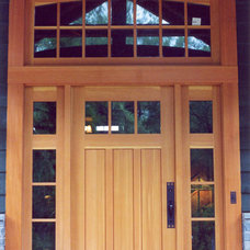 Front Doors by NEWwoodworks Fine Woodworking