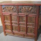 Chinese Antique Locking Cabinet - Chinese Antique Locking Cabinet