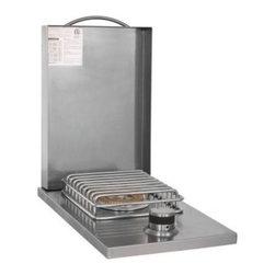 Blaze Outdoor - Blaze Ea. Side NG Burner - A heavy duty 12,000 BTU brass burner provides superior heat output
