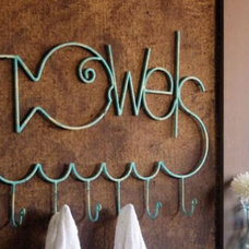 Eclectic Towel Bars And Hooks by At West End