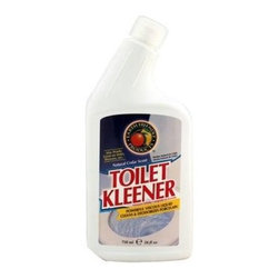 Earth Friendly Toilet Kleener - 24 Fl Oz - Don't leave your toilet acidic and smelling of harsh chemicals; use Toilet Kleener instead! With a foundation of all-natural cedar oil and citric acid, Toilet Kleener fights against water stains and accumulated grime while leaving your toilet smelling fresh and natural. Earth Friendly Products uses only plant-based, recycled, animal-friendly materials to make their many useful, environmentally friendly products, which are biodegradable and non-toxic.