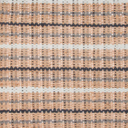 Jaipur Rugs - Naturals Textured Cotton/Jute Taupe/Gray Area Rug (3.6 x 5.6) - The Andes collection is hand-woven with jute and recycled Chindi cotton fabric for touches of both color and a softer feel. Eco friendly and durable, these rugs fit in a variety of homes.