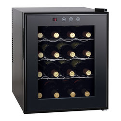 Sunpentown - Thermo-Electric Wine Cooler with Heating, 16-Bottle - ThermoElectric + Heating Technology   Environment friendly