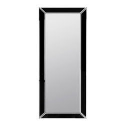 Cooper Classics - Cooper Classics Providence Full Length Wall Mirror - 23.5W x 55H in. Multicolor - Shop for Mirrors from Hayneedle.com! The two-tone finish and divided frame of the Cooper Classics Providence Wall Mirror create a subtly alluring accent for contemporary interiors. This lovely mirror is finished in black and silver and has a beveled glass edge.About Cooper ClassicsCooper Classics was founded over 50 years ago and is currently operated by the third generation of the Cooper family. Their production and warehousing facilities are located in the Blue Ridge Mountains of Virginia where they produce uniquely styled mirrors and accessory furniture. Because of their extensive background in wood product manufacturing they excel in the design and production of solid wood mirror frames and furniture. Cooper's commitment to their customers is to provide products with outstanding quality and styling while maintaining a competitive price.