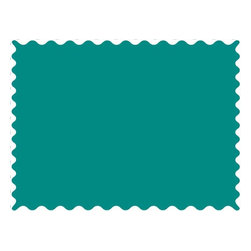 SheetWorld - SheetWorld Teal Jersey Knit Fabric - By The Yard - 100% organic cotton jersey knit fabric. 9.5 ounces thick. Color is a solid peacock.
