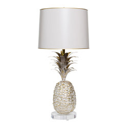 Pineapple Lamp - This is a very glamorous pineapple lamp from Stray Dog Designs.