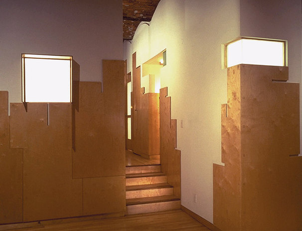 Contemporary Hall by George Ranalli Architect