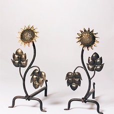 Eclectic Fireplace Grates And Andirons by La Forge Française