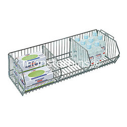 "Wire Shelving - 14"" x 36"" .  Wire Basket.  Perfect for the home office or closet.  Use on a shelving unit or as a stand alone basket."