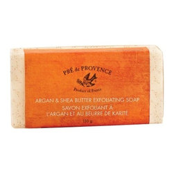 European Soaps - Argan & Shea Butter European Soaps - Wash your cares away with Argan and shea butter exfoliating soap. Nothing beats silky skin, and this soap will froth up enough lather to slough away the rough.
